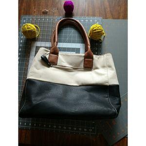 Black Rivet Wilson's Leather tote bag